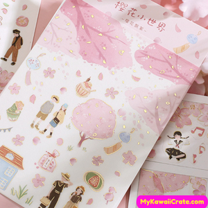 Kawaii Pastel Stickers
