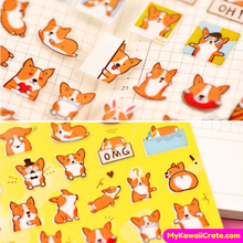 Corgi Dog Stickers