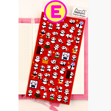 Funny Cartoon Animals Face Expressions Nekoni Stickers ~ Cute Animal Stickers