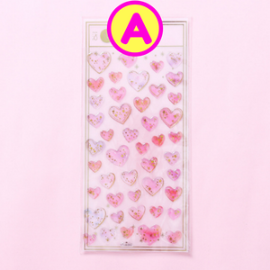 Cute Hearts Stickers