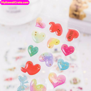 Kawaii Creative Gilding Decorative Stickers