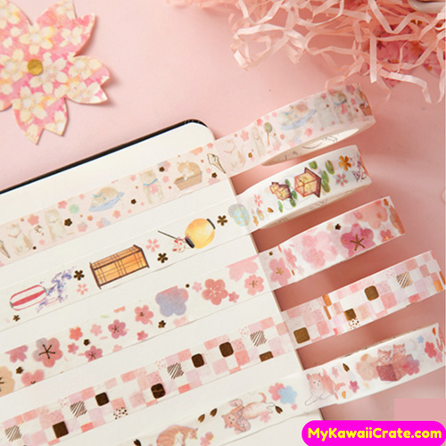 gilding washi tapes