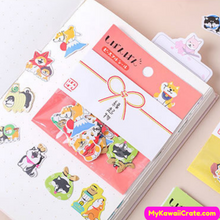 Cartoon Animals Stickers