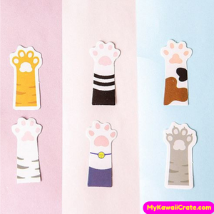 45 Pc Pk High Five Cat Paw Decorative Stickers