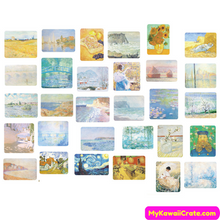 200 Pc Pack Impressionism Art Movement Stickers