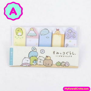 Japanese Cartoon Sumikko Gurashi Mini Finger Sticky Notes