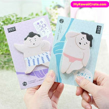 Funny Japanese Sumo Style Sticky Notes