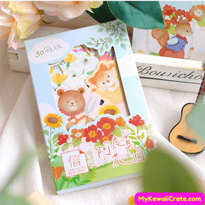Forest Animals Postcards