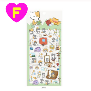 Kawaii Cats Party Decorative Stickers