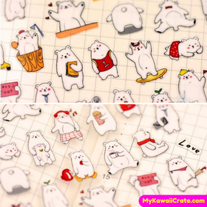 Kawaii Animals Decorative Stickers