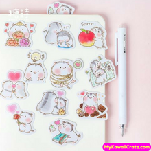 45 Pc Kawaii Baby Hamster Decorative Sticker Pack