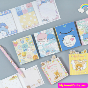 Japanese Cartoon Memo Note Set