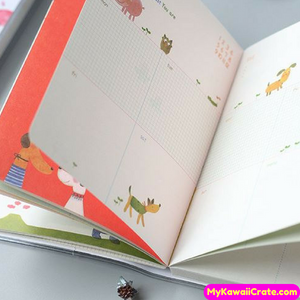 Kawaii Sweet Hardcover Diary Notebook A6