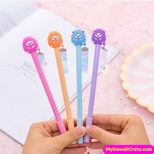 4 Pc Kawaii Lamb Baby Sheep Gel Pens Set