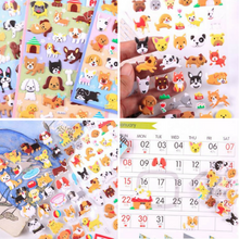 Kawaii Lovely Puppy Dog 3D Puffy Stickers