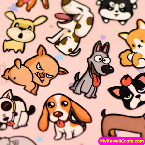 Cute Dog Decorative Stickers