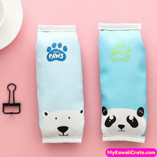 Kawaii Paws Bear PU Pencil Bag