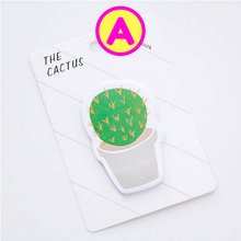 Kawaii Potted Cactus Sticky Notes