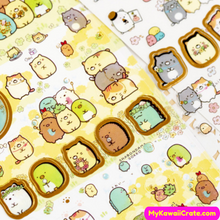 Cute Cartoon Animals Stickers