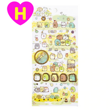 Kawaii Rilakkuma Sumikko Gurashi Index Stickers