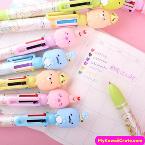 Sumikko Gurashi 6 Colors in 1 Chunky Ballpoint Pen