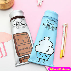 Kawaii Novelty Toothpaste Tube Style Pencil Case
