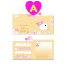 Kawaii Rabbit Sticky Notes