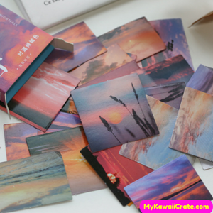 Dusk Scenery Stickers