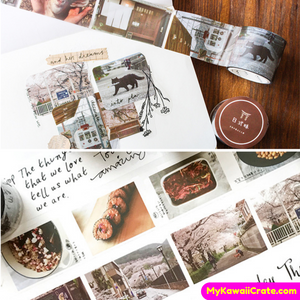 Life is a Scenery Picture Decorative Tape ~ Cute Instagram Pictures Masking Tape