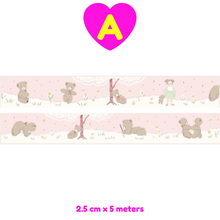 Lilliputian Series Adorable Creatures Washi Tapes ~ Masking Tapes