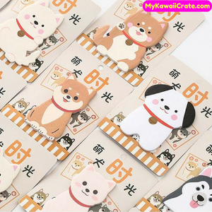 Lovely Puppy Dog Sticky Notes