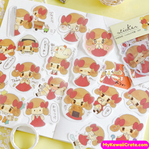 anime girl stickers