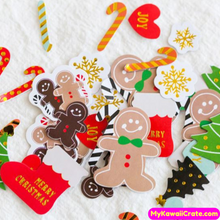 Christmas Spirit Decorative Stickers