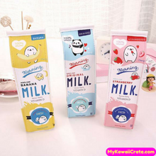 Novelty Milk Carton Pencil Case