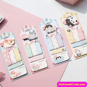 Kawaii Animals Sticky Notes
