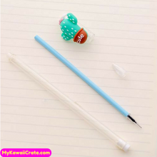 Cute Carrot Corn Eggplant Cactus Novelty Gel Pen