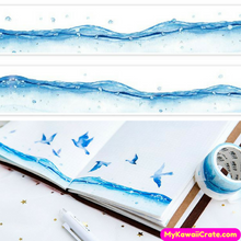 Ocean View Wide Washi Tape / Masking Tape