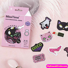 Party Queen Shining Deco Sticker Pack / Kawaii Laser Stickers