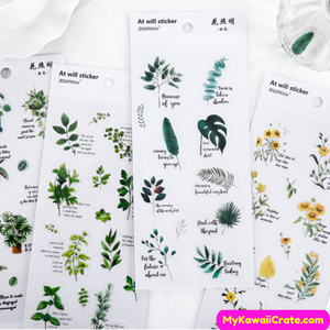 Plants Stickers