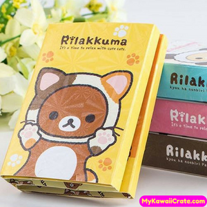 Kawaii Bear Sticky Notes Set