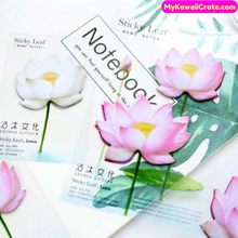 Lotus Flowers Sticky Notes