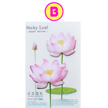 Romantic Lotus Flower Sticky Notes Memo Note
