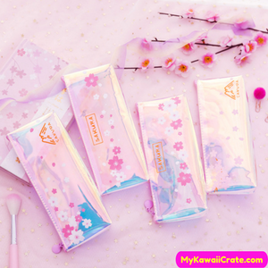 Japanese Sakura Pencil Bag