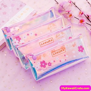 Cherry Blossoms Pencil Bag