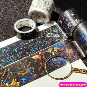 Shiny Stars Constellation Gilding Foil Washi Tapes / Masking Tape