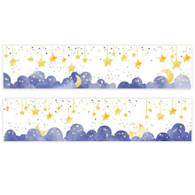 Sparkling Stars Moon Clouds Sky Washi Tape ~ Masking Tape