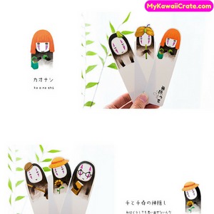 Spirited Away Kaonashi No Face Man Bookmarks