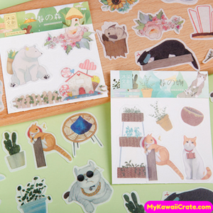 Cool Cats Stickers