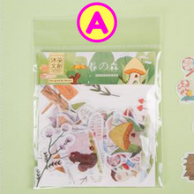 Spring Carnival Forest Animals Cute Girls Cool Cats Stickers