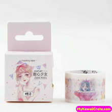 Kawaii Sweet Honey Girl Washi Tape / Masking Tape